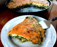 Σπανάκι με αυγά στον φούρνο !!! ~ ΜΑΓΕΙΡΙΚΗ ΚΑΙ ΣΥΝΤΑΓΕΣ 2 Dukan Diet, Pie Recipes, Quiche, I Am Awesome, Food And Drink, Veggies, Snacks, Cooking, Breakfast