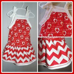 Canada Day Dress - 2/3T - Ready to Ship