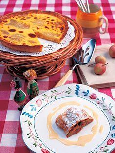 フルーツの甘みと香りがたっぷりの、アルザスらしいデザート2品。手軽に作れるから、ぜひお試しを。|『ELLE a table』はおしゃれで簡単なレシピが満載!