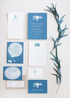 invitations de mariage sur le thème de l'aventure / adventure wedding invites