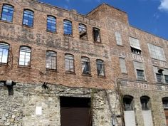 Castleberry Hill's history...  a central hub of industry and life in Atlanta