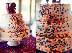 confetti cake // images by Eternal Reflections Photography