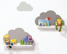 Ikea RIBBA mit Wolkenreich Aufklebern taupe