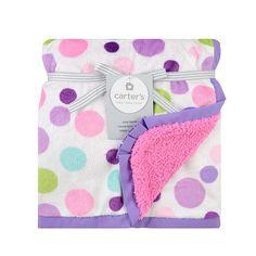 "Carter's Valboa Blanket Girls Dot Print - Triboro Quilt Co. - Babies ""R"" Us"