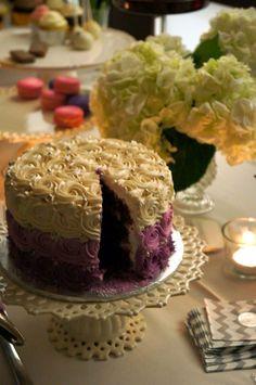 Red velvet wedding cake from Cake Star. Absolutely scrumptious!