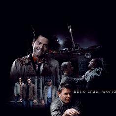 #Supernatural - Season 7 Episode 2 Supernatural Season 7, Supernatural Fan Art, Fandom, Deviantart, Seasons, World, Shots, Movie Posters, Dark
