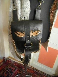 Elyapimi deri canta.handcrafted leather bag.
