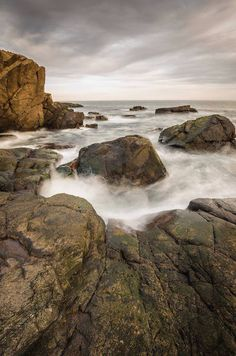 Stephen Topia took this photo of Otter Point.  Stephen Topia Photography
