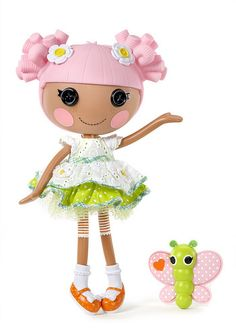 LALALOOPSY.. I love when dollies look like dolls and not like grown up women!