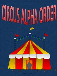 $1.50 Kg- Grade 2  Looking for a way to teach alphabetizing? This 6-page package is based on a circus theme.This package does not cover alphabetical order by the 2nd or 3rd letter and so on, but it can aid in improving the skill of quick recall of the basic ABC order. Re-pin to remember!!!!