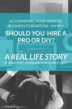 When it comes to accounting, business formation and your website, will you hire a pro or DIY? Business Format, Business Tips, Cleaning Business, Marketing Jobs, Affiliate Marketing, Accounting Career, Website Security, Security Tips, Influencer Marketing