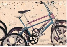 Vintage Redline freestyle bike advertisement!