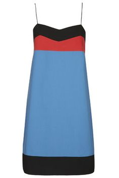 **Colour-Block Cami Slip Dress by Unique
