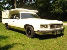 1976 Chevy Caprice Classic camper