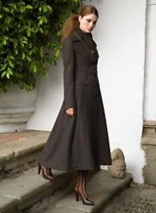 DKNY long wool coat $521 | Costumes | Pinterest | Long wool coat ...