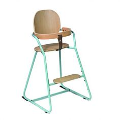 Baby London Magazine blue products - Charlie Crane Tibu high chair