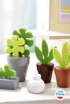 Little Friends – Puppenhaus-Zubehör Blumen & Pflanzen (Artikelnummer 300501)