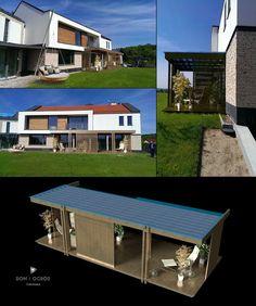 ZADASZENIE+TARASU+PATIO+PERGOLA+ZE+SZKŁEM+ALTANA+10m+x+2,5m