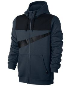 NIKE Nike Men'S Sportswear Full-Zip Logo Hoodie. #nike #cloth # activewear