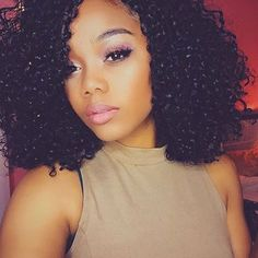 HAIRSPIRATION| Curl crushing on @imadamejay's #curls ➰ So pretty  #voiceofhair ========================= Go to VoiceOfHair.com ========================= Find hairstyles and hair tips! =========================