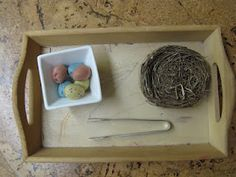 On The Shelf: A Picture Diary of Montessori Work In Our Classroom -Great Montessori Blog
