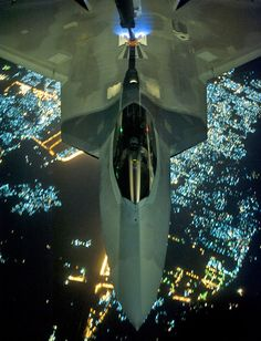 F22 refueling on its way to Syria