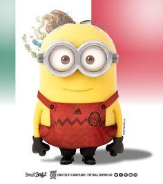#MinionsWorldCup @Selección Mexicana • #ContigoSiempre • LigraficaMX• 170614CTG