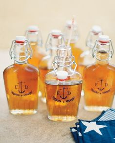 Souvenirs to Sip: Emily Current and David Brotherton's Americana Wedding- Martha Stewart Weddings
