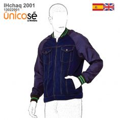 CHAQUETA JEANS RAGLAN NIÑO 2001 mod='ptsblockrelatedproducts' Patterned Bomber Jacket, Motorcycle Jacket, Denim, Jackets, Style, Fashion, Mens Casual Jackets, Zippers, Patterns