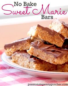 Sweet Marie Bars {12 Days of Christmas Baking} ~ absolutely delicious and perfect to gift at Christmas!