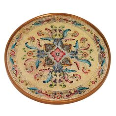 "Badash RCH13-GS Gemstone Sand Round 13"" Tray or Charger"