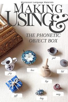 sprouts | Montessori Language Materials--Making and Using the Phonetic Object Box