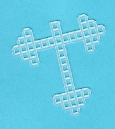 Plastic Canvas Angel Pin Pattern | Here is the ribbon and plastic canvas angel for those who want it ...