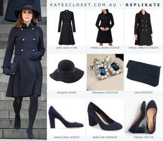 RepliKate outfit inspired by the Duchess of Cambridge. Click to shop the look for less