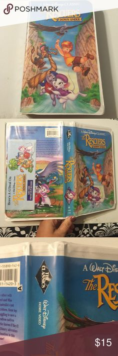 The Rescuers down under BLACK DIAMOND VHS Disney The Rescuers down under BLACK DIAMOND VHS Disney Other