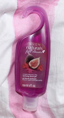 Avon Naturals Comforting Fig Hydrating Shower Gel