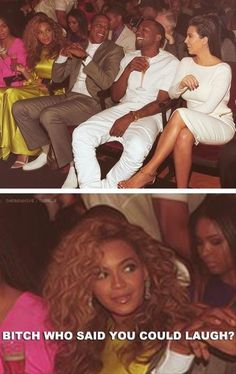 Seriously Kim didnt earn her spot like the rest of them, she had to sleep with kanye to even sit near Bey smh. Just like her career she hoe'd herself up to the top!