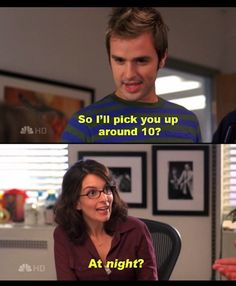 "Ten is way, way too late: | The 50 Most Important Lessons Learned From ""30 Rock"""