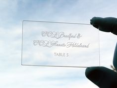 acrylic place cards are a great wedding souvenir for your guests Wedding Souvenir, Price Quote, Table Signs, Fort Collins, Acrylic Colors, Wedding Planner, Place Cards, Invitations, Creative