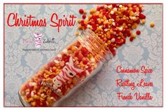 A Sprinkle recipe perfect for the Christmas Spirit! Sprinkles are tiny scented soy wax melts that you can mix together to create your own recipes with - and your house will always smell amazing. Pink Zebra Party, Pink Zebra Home, Pink Zebra Sprinkles, Cinnamon Recipes, Cinnamon Spice, Pink Zebra Consultant, Sprinkles Recipe, Soy Wax Melts, French Vanilla