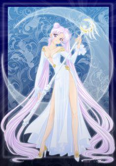 Sailor Moon: Queen Serenity v2 by lady-narven.deviantart.com on @deviantART