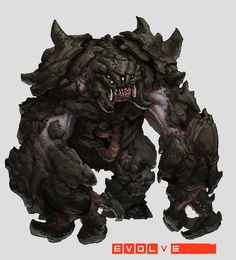 Behemoth-Concept-Render by Stephen-0akley earth rock stone elemental golem monster creature beast animal | Create your own roleplaying game material w/ RPG Bard: www.rpgbard.com | Writing inspiration for Dungeons and Dragons DND D&D Pathfinder PFRPG Warhammer 40k Star Wars Shadowrun Call of Cthulhu Lord of the Rings LoTR + d20 fantasy science fiction scifi horror design | Not our art: click artwork for source