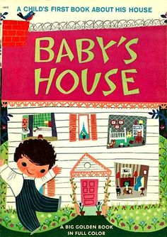 Illustration: Mary Blair's Baby's House « AnimationResources.org – Serving the Online Animation Community