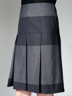 Narciso Rodriguez | Wool Pleated Skirt