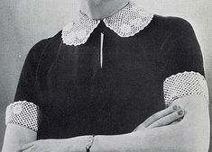 Peasant collar and cuffs pattern 2122 free crochet patterns irish crochet collar and cuff set pattern 2254 dt1010fo