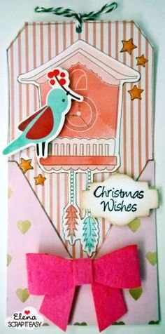 tag per Scrap it easy non conventional christmas colors