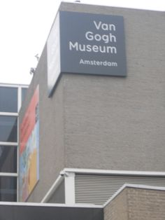 Van Gogh Museum, Amsterdam.  This is in my next European trip itinerary.