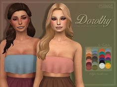 Sims 4 CC's - The Best: Creations by Trillyke