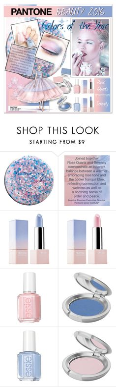 """""""Pantone Beauty 2016 Colors of the Year"""" by helenehrenhofer ❤ liked on Polyvore featuring beauty, Nails Inc., Sephora Collection, Essie and T. LeClerc"""