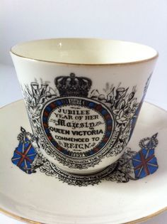 Cup from Queen Victoria's Diamond Jubilee.